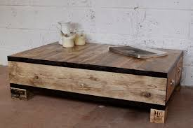 Wooden Coffee Tables With Drawers Old And Vintage Diy Square Low Wood Coffe Table With Drawers Using