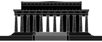 lincoln memorial building clipart. lincoln memorial building clipart o