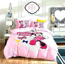 minnie mouse bedding mouse bed mouse full size bedding pink mouse cartoon printed bedding set girls bedroom mouse bed