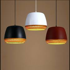 traditional light fixtures single head modern metal pendant light black white red traditional classic painting feature study bedroom lighting traditional