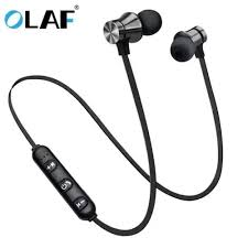 Buy <b>OLAF Earphone Wired In</b> Ear Magnet Exercise Sport Bluetooth ...