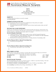 Examples Of Combination Resumes Combination Resume Examples Sample Functional Resumes 60 For 16