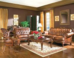 living room decorating with brown furniture leather couch decor brown leather furniture decor in living room
