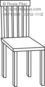 chairs clipart black and white. Simple Chairs White Chair For Chairs Clipart Black And C