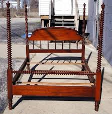Full Size Canopy Bed Antique Cherry Four Poster Full Size Canopy Bed ...