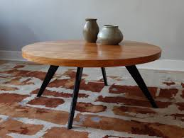 round rustic modern coffee table ideas