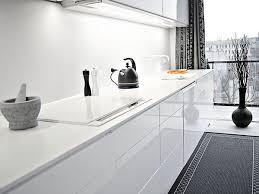 interior design kitchen white. Black And White Interior Duplex Kitchen Design