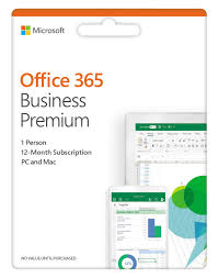 Microsoft Office 365 Pricing Office 365 Business Premium 1 Year Subscription