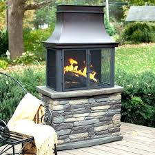 clay fireplace outdoor place for chimney designs 18