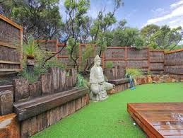 Small Picture garden ideas with deck