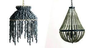 gorgeous wood bead chandelier wood bead chandelier 8 best beaded chandeliers beautiful wood with beads wooden