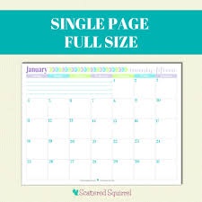 Printable 2015 Calendars By Month 2015 Calendar Printables You Asked Im Answering