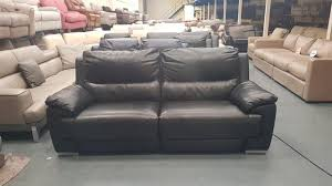 ex display dfs falcon navy blue leather electric recliner 2 seater sofa in excellent condition 100 leather features a built in usb device charger es