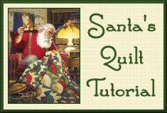 Quilting Santa's Rising Sun Quilt Pattern Tutorial from Victoriana ... & Quilting Santa's Rising Sun Quilt Pattern Tutorial from Victoriana Quilt  Designs Adamdwight.com