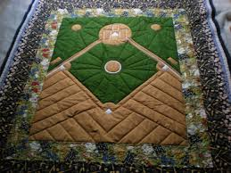 For Andrew's friends who have named all their children after ... & America's favorite Pass time Baseball Quilt What a clever idea. Adamdwight.com