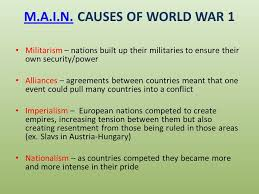 four main causes of world war essays assignment how to write  the causes of world war one essay by scarffreak