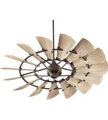 ceiling fan 60 inch. quorum 96015-86 windmill 60 inch oiled bronze with weathered oak blades indoor ceiling fan