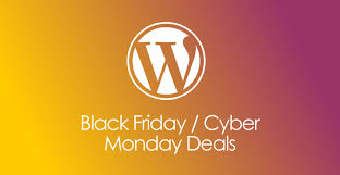 cyber monday and black friday 2017 wordpress deals