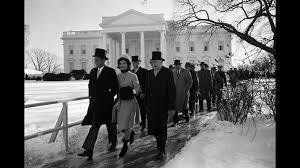 The Presidential Inauguration Of John F Kennedy