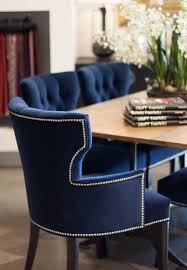 pictures gallery of 20 best navy blue velvet dining chairs for your home dining room
