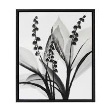 modern paintings black and white 100 hand painted modern black white flower oil painting on