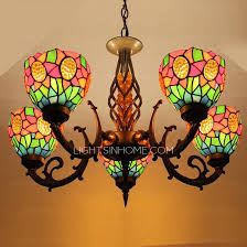 ceiling lights best metal stained glass chandelier gloremacom nurani with regard to modern uptown stained
