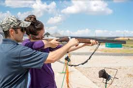 a collection of photos from the lee kay public shooting center