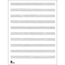 blank sheet music book music notation paper the manuscript book no 5 giant stave new