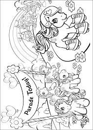Kids N Fun 70 Kleurplaten Van My Little Pony Kleurplaat My Little