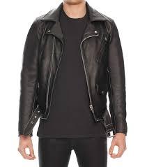 men s black jacket leather jackets jack london adrian in trends