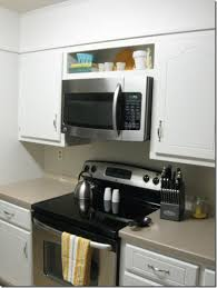 stove with microwave. retrofit over-the-range microwave stove with u
