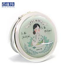folding makeup mirror traditional chinese famous brand pehchaolin 1 circle portable mini china