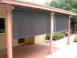 canvas outdoor shades canvas shades for patios amazing best roll up blinds outdoor with patio home