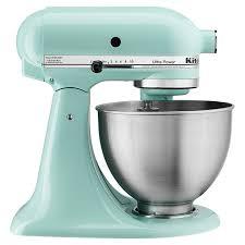 kitchenaid ultra power mixer ice blue ksm95ic