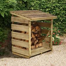 Wooden Log Store | Garden Storage | Buy Sheds Direct UK
