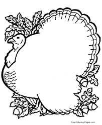 Printable turkey coloring sheets for kids. Thanksgiving Coloring Pages Sheets And Pictures