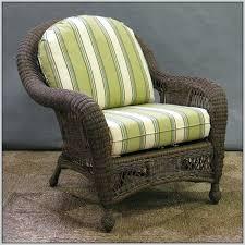 wicker outdoor chair cushions 20 x 24