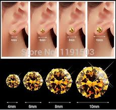 Mm Earring Chart Wholesale 10 Pairs Fashion Jewelry Stainless Steel Round