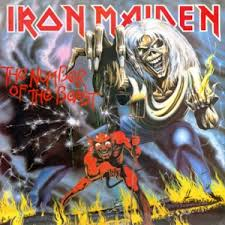 Image result for iron maiden number of the beast