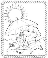 Dora Coloring Pages Online Free Coloring Pages Printable Coloring
