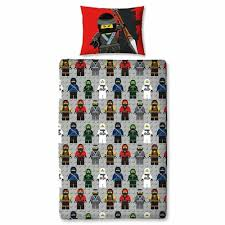 lego ninjago urban single bedding