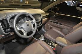 2018 mitsubishi outlander interior. contemporary 2018 2018 mitsubishi outlander phev for mitsubishi outlander interior