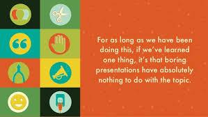 ways to make any presentation interesting