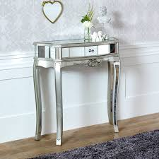 half moon console table. Half Moon Mirrored Console Table - Tiffany Range Melody Maison