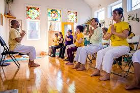 chair yoga teacher