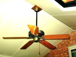 angled ceiling fan mount vaulted hanging mounting on hunter kit ceilin
