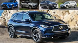 Comparing The 2019 Infiniti Qx50 Vs Lexus Nx Vs Acura Rdx Vs