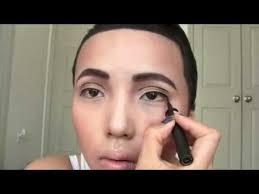 boy makeup asian transforms herself into drake by simply using make up asian transforms herself into
