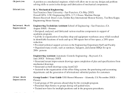 outline engineering resume objective resume endearing technical tour guide resume