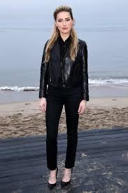 <b>Amber Heard</b> attends the Saint Laurent <b>Men's</b> Spring/<b>Summer</b> 2020 ...